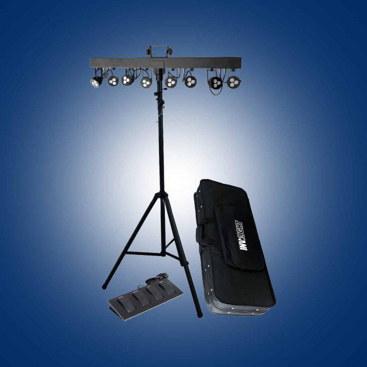 LED 8-fach Spot Bar